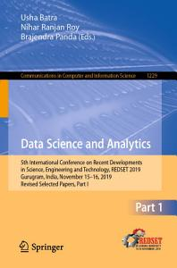 Data Science and Analytics PDF