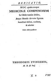 Compendium medicinae universae