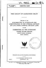 The Legacy of Alexander Orlov