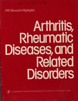 Arthritis, Rheumatic Diseases, and Related Disorders