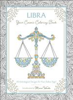 Libra: Your Cosmic Coloring Book