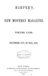 Harper's New Monthly Magazine: Volume 58