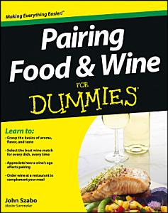 Pairing Food and Wine For Dummies Book