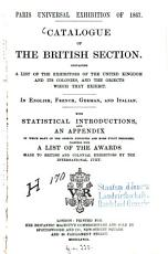 Catalogue of the British Section PDF