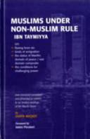 Muslims Under Non Muslim Rule