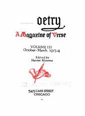 Poetry: Volume 3