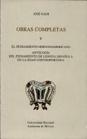 El pensamiento hispanoamericano PDF