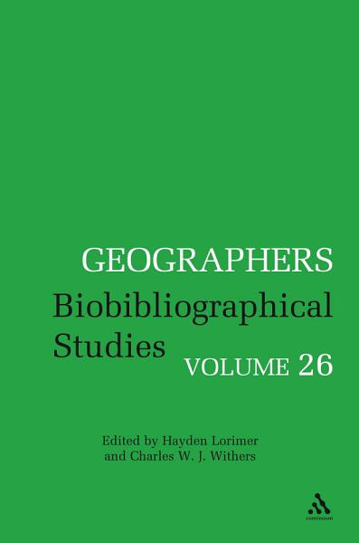 Geographers PDF