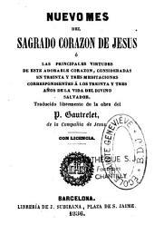 Nuevo mes del Sagrado Corazon de Jesus en 33 meditaciones correspondientes a los 33 anos de la vida del Divino Salvador