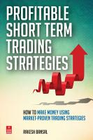 Profitable Short Term Trading Strategies PDF