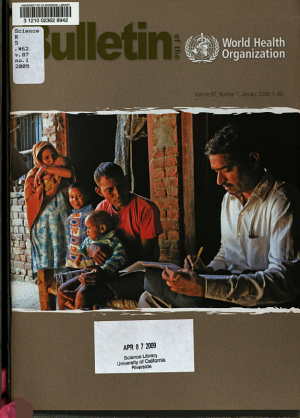 Bulletin of the World Health Organization PDF