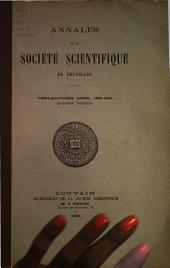 Annales: Volume24,Partie4