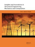 Insights and Innovations in Structural Engineering  Mechanics and Computation PDF