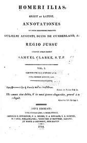 Homeri Ilias: græce et latine, Volume 1