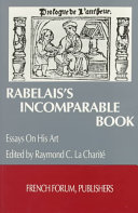 Download Rabelais s Incomparable Book Book