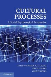 Cultural Processes: A Social Psychological Perspective