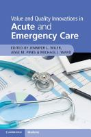 Value and Quality Innovations in Acute and Emergency Care PDF