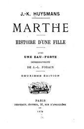 ... Marthe: histoire d'une fille