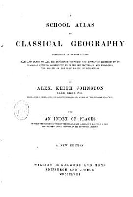 A School Atlas of Classical Geography     PDF
