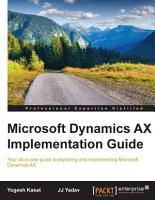 Microsoft Dynamics AX Implementation Guide PDF