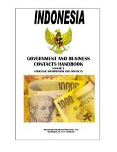 Indonesia Government and Business Contacts Handbook
