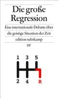 Die gro  e Regression PDF