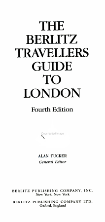 London Travellers Guide PDF