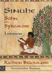 Sinuhe, Sohn der Sykomore - Leseprobe: Historischer Roman aus dem alten Ägypten