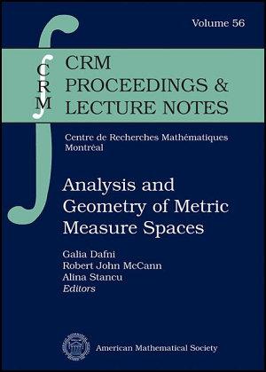 Analysis and Geometry of Metric Measure Spaces PDF