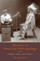 Rhetoric in American Anthropology PDF