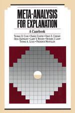 Meta-Analysis for Explanation
