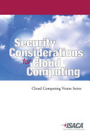 Security Considerations for Cloud Computing