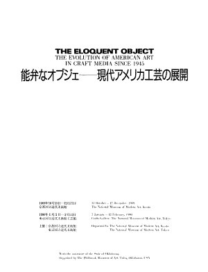 The Eloquent Object