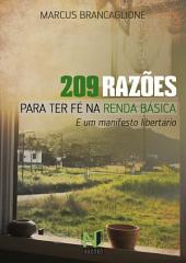 209 RazÕes Para Ter FÉ Na Renda BÁsica