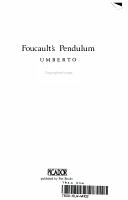 Foucault s Pendulum PDF