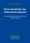 Kurze Geschichte der italienischen Sprache PDF