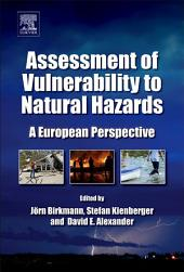 Assessment of Vulnerability to Natural Hazards: A European Perspective