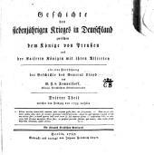 Geschichte des Siebenjährigen Krieges in Deutschland zwischen dem könige von Preussen und der kaiserin königin mit ihren alliirten: Band 3