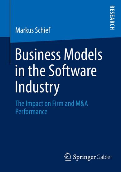 Business Models in the Software Industry PDF
