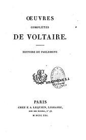 Oeuvres complètes de Voltaire: Volume24