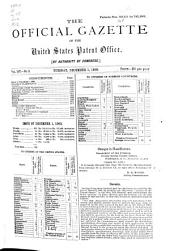 Official Gazette of the United States Patent Office: Volume 107