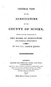 General view of the agriculture of the county of Sussex