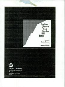 Significant Features of Fiscal Federalism PDF