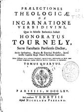 Praelectiones theologicae: de incarnatione Verbi divini