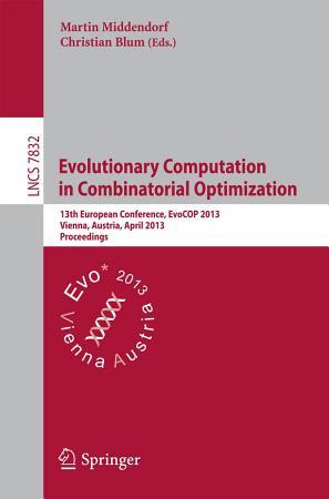 Evolutionary Computation in Combinatorial Optimization PDF