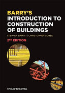 Barry s Introduction to Construction of Buildings and Advanced Construction of Buildings Bundle
