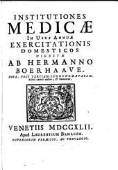Hermanni Boerhaave Opera omnia medica, etc