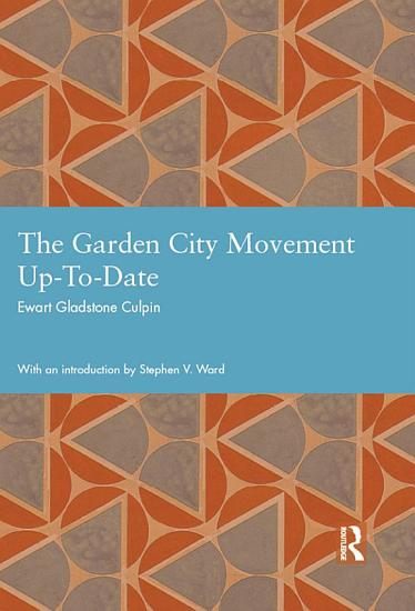 The Garden City Movement Up To Date PDF