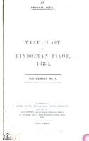 The West Coast of Hindostan Pilot PDF