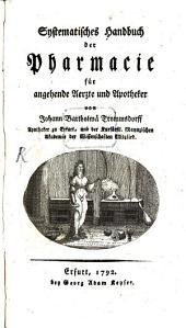 Systematisches Handbuch der Pharmazie